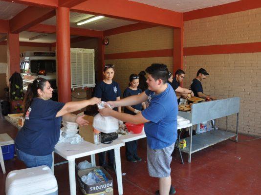 Actividad a beneficio de Bomberos Voluntarios