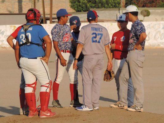 Continúan playoff´s en la Liga Juvenil de Béisbol del Río Colorado