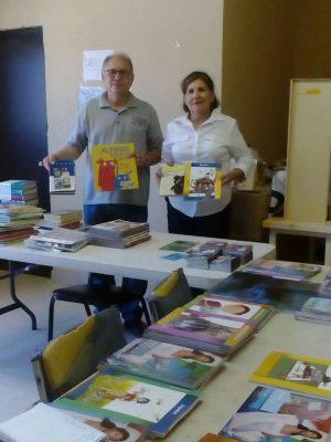 Abren sala de lectura en el golfo