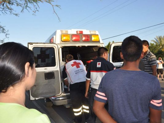 Dos peatones lesionados al ser arrollados