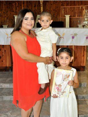 Lindos niños Israel y Brisia