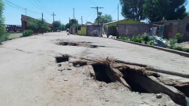 """Vecinos preocupados por """"el puente quemado"""", piden que lo arreglen"""
