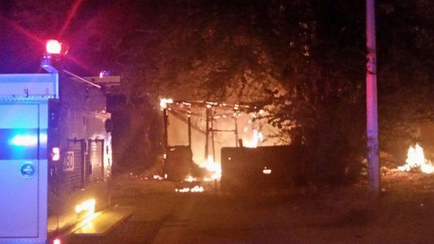 """Tremendo incendio causó daños considerables en una casa en la """"10 de Abril"""""""
