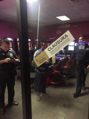 Clausuran casino por no contar con licencia de funcionamiento