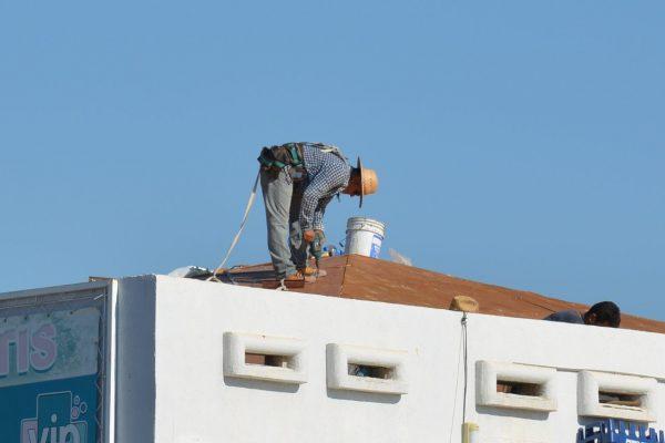 Reparación de techo