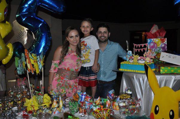 Fiesta infantil para Roberto