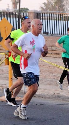 Ultra maratonista sanluisino se suma a Premio Sonora