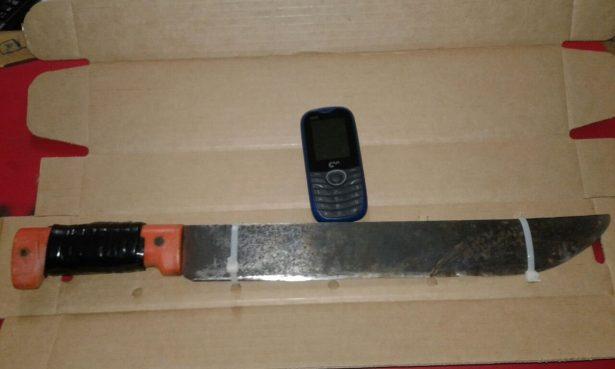 Detenidos por asalto con machete