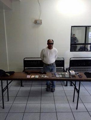 Asaltante detenido afirma que es el único robo que ha cometido