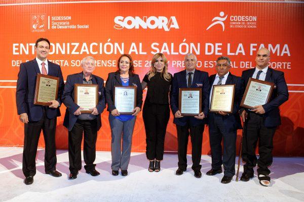 Entrega Gobernadora Pavlovich Premio Estatal del Deporte 2017