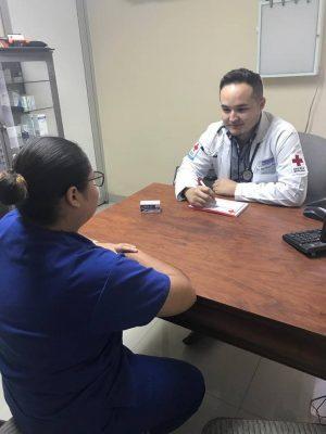 Consultas médicas y vacunación contra la influenza