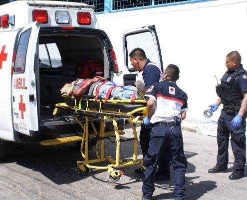 Casi 7 mil servicios de ambulancia en la Cruz Roja