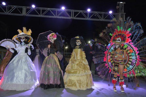 Concurso de catrinas y catrines en la Feria del Algodón [Galería]