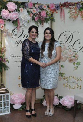 Daniela Adame Montemayor despide su solteria