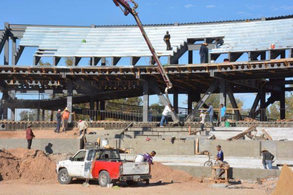 Avance del 70% en construcción de estadio de SLRC