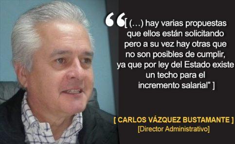 CARLOS VÁZQUEZ BUSTAMANTE