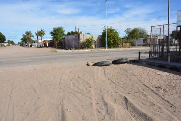 Calle cerrada
