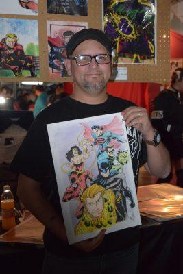 """""""El Kartun"""" de niño soñó con convertiste en caricaturista reconocido y lo logró"""