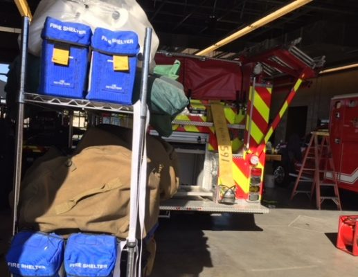 Aporta Yuma 4 bomberos en apoyo a colegas en incendios forestales de California