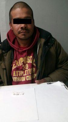 Detenido traía droga y mazo de llaves limadas