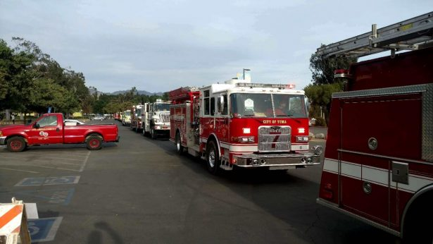 Desplazan bomberos de Yuma a remotas áreas de incendio en California