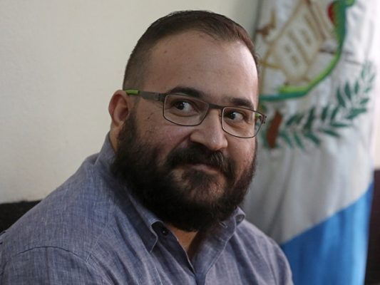 "Posponen audiencia contra Javier Duarte porque su defensa ""no fue notificado"""