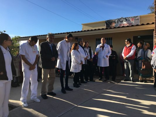 Aperturan Centro de Salud de LBS