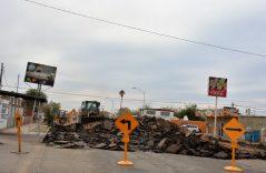 Inician obras de pavimentación de la calle 22