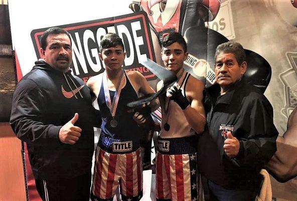Triunfan Cuates Sámano en Nacional de Boxeo
