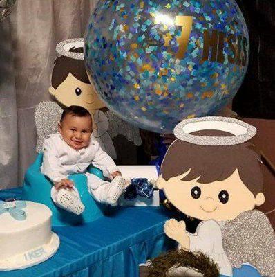 Recibe bautismo niño Iker Montaño