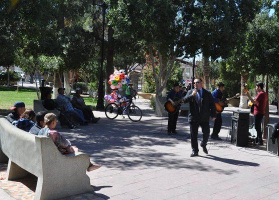 """Concierto evangélico  en la Plaza """"Juárez"""""""