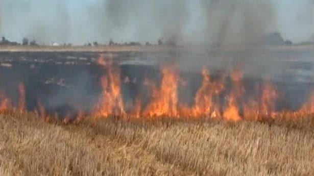 Controlarán quema de paja  de trigo para reducir daño