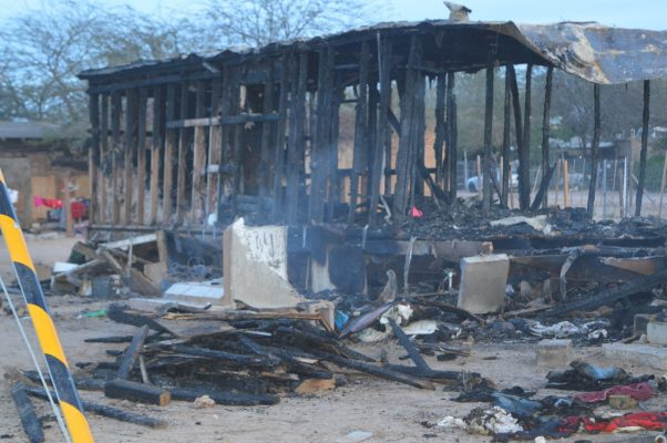 Causa incendio pérdidas totales