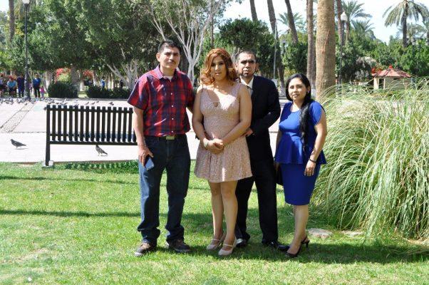 Se casaron Alondra y Vicente