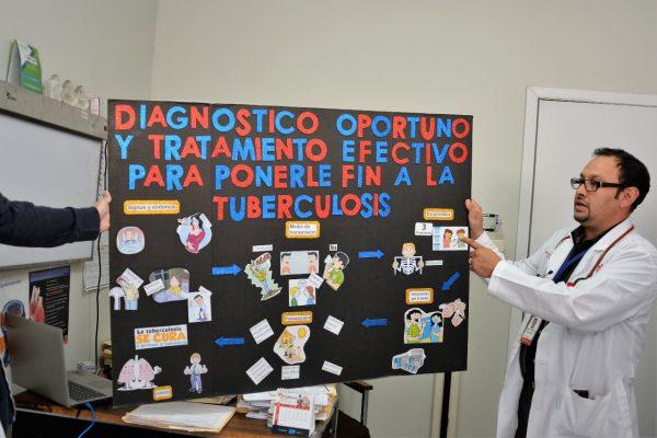 SL ocupa tercer lugar en tuberculosis a nivel estatal