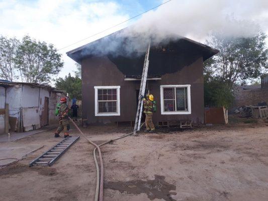 Se incendia otra casa