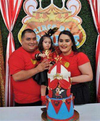 Piñata de circo para Ariadne