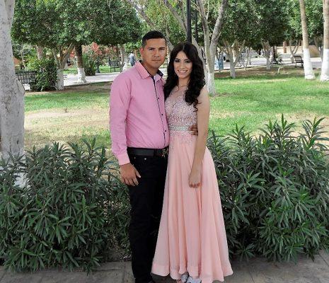 Celebran unión de Angélica y Luis Alberto