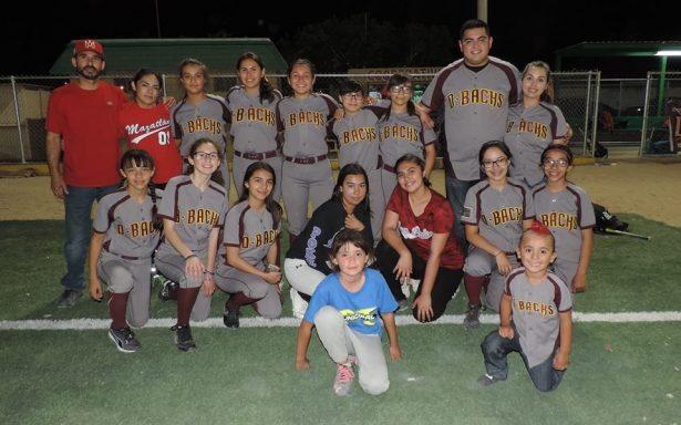DBacks invictas tras Siete Jornadas del Softbol Femenil de Novatas