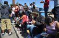 Escala en San Luis caravana de migrantes
