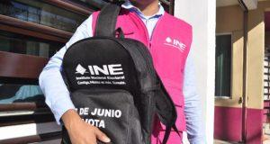 Protege elección INE con reservas