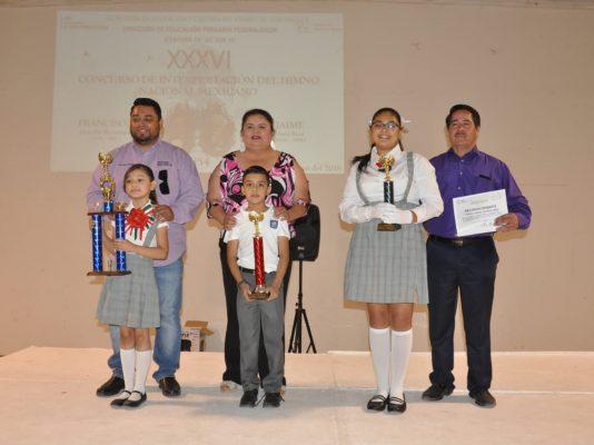 """Ganó la """"Francisco Sarabia"""" concurso de canto del Himno Nacional"""
