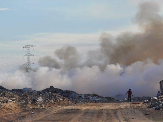 Cambio de dirección de viento provoca contaminación