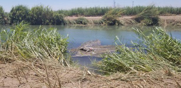Encuentran cadáver flotando en el canal Bacanora