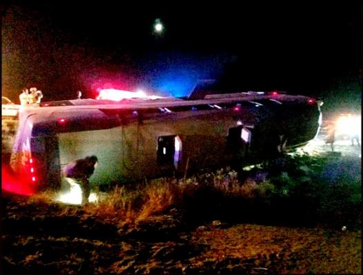 Camionazo en Sonoyta: 7 muertos y 12 heridos.