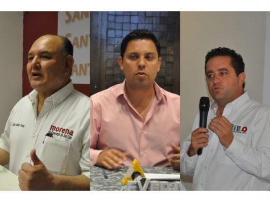 Aspirantes a la alcaldia Municipal opinan sobre candidatos a la Presidencia de México