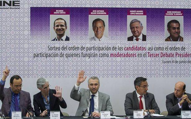 [EN VIVO] Tercer y último debate presidencial desde Mérida