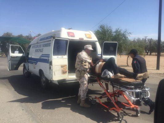 Atacan a dos a balazos en Peñasco y piden ayuda