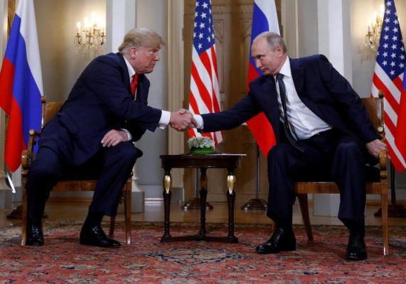 Trump quiere segunda cumbre con Putin en Washington a final de año