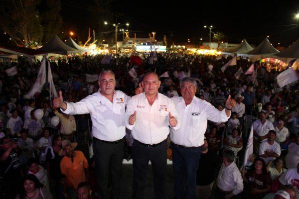 Gana Santos la Alcaldía con $79 mil pesos